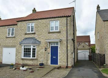 Thumbnail 3 bed semi-detached house for sale in Kingfisher Drive, Pickering