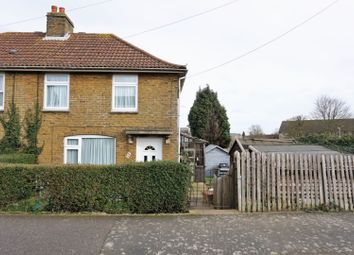 Thumbnail 2 bed semi-detached house for sale in Milner Crescent, Canterbury
