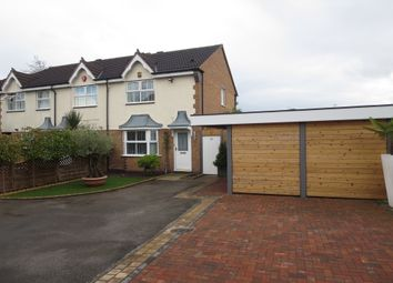 Thumbnail 3 bed town house for sale in Bowlers Close, Festival Heights, Stoke On Trent