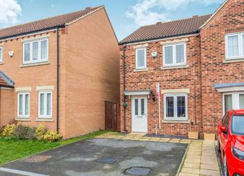 Thumbnail 2 bed semi-detached house for sale in Holywell Avenue, Castleford