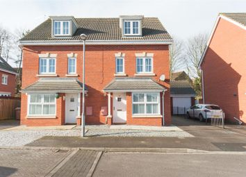 Thumbnail 4 bedroom semi-detached house for sale in Cooks Gardens, Keyingham, Hull