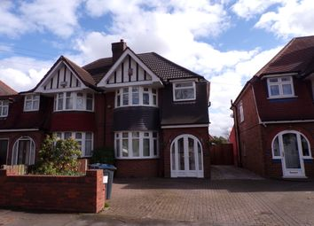 Thumbnail 3 bed semi-detached house to rent in Studland Road, Hall Green, Birmingham