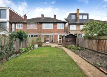 Thumbnail 4 bed semi-detached house to rent in Ellesmere Road, Chiswick, London