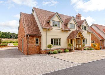 Thumbnail 4 bedroom detached house for sale in Warren Lane, Hambledon, Godalming, Surrey