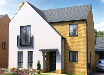 Thumbnail 4 bed detached house for sale in Belland Hill, Eynesbury, St. Neots