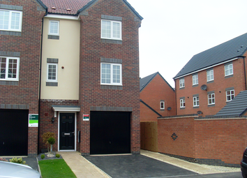 Thumbnail 4 bed town house to rent in Girton Way, Mickleover, Derby