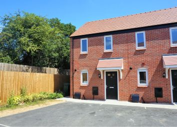 Thumbnail 2 bed end terrace house for sale in 23 Crawley Way, Chellaston