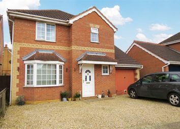 Thumbnail 4 bed detached house for sale in Lomax Drive, Sleaford