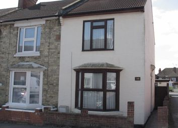 Thumbnail 2 bed end terrace house to rent in Kent Avenue, Ashford, Kent