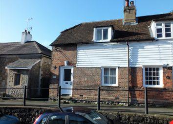 Thumbnail 2 bed terraced house for sale in St. Marys Road, Wrotham, Sevenoaks