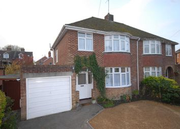 Thumbnail 3 bed semi-detached house to rent in Rectory Road, Salisbury