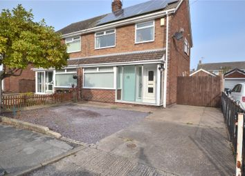 Thumbnail 3 bed semi-detached house for sale in Abbots Close, Hull