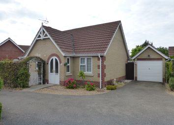 Thumbnail 2 bedroom detached bungalow for sale in Bullfinch Way, Friday Bridge, Wisbech