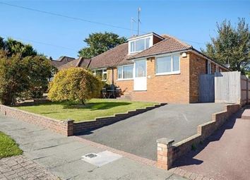Thumbnail 3 bed bungalow for sale in Elvin Crescent, Rottingdean, Brighton, East Sussex