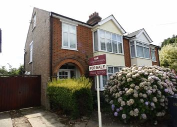 Thumbnail 3 bedroom semi-detached house for sale in Powling Road, Ipswich, Suffolk