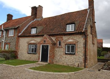 Thumbnail 2 bed cottage to rent in Langham Road, Field Dalling, Norfolk