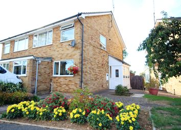 Thumbnail 3 bed semi-detached house for sale in Langley Way, Kettering