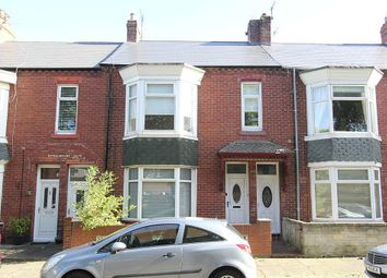 Thumbnail 3 bed flat for sale in Egerton Road, South Shields, Tyne And Wear