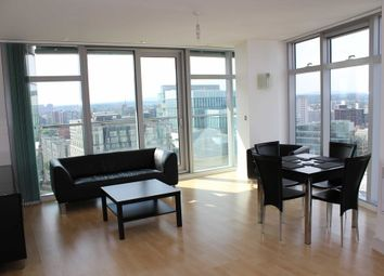 Thumbnail 2 bed flat to rent in Great Northern Tower, Watson St, Deansgate