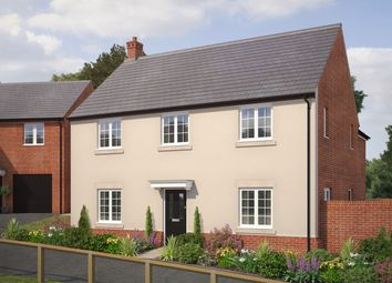 Thumbnail 4 bed detached house for sale in Laverton Road, Hamilton, Leicestershire