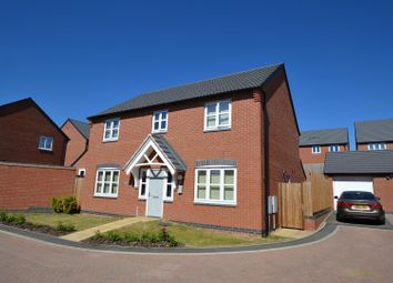 Thumbnail 4 bed detached house for sale in Sharpe Way, Sileby, Leicestershire