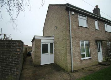 Thumbnail 2 bed flat for sale in Newton Close, Wragby