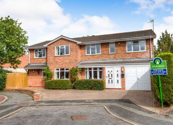 Thumbnail 5 bed detached house for sale in Packwood Close, Webheath, Redditch