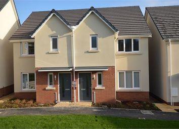 Thumbnail 3 bed semi-detached house to rent in Chariot Drive (Plot 50 Linden Homes), Kingsgate, Kingsteignton, Devon.