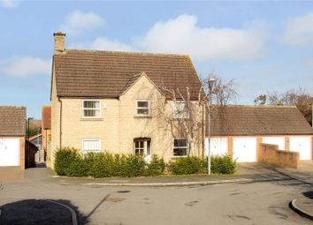 Thumbnail 4 bed detached house for sale in Grange Close, Wanborough, Wiltshire