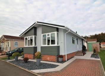 Thumbnail 2 bed mobile/park home for sale in Fairfield Park, Wellow Road, Ollerton