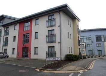 Thumbnail 2 bed flat to rent in Fishermans Way, Marina, Swansea