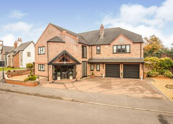Thumbnail 5 bed detached house for sale in Quarndon Heights, Allestree, Derby