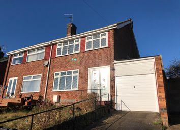 Thumbnail 3 bed semi-detached house to rent in Platt Street, Pinxton, Nottingham
