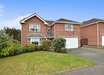 Thumbnail 4 bed detached house for sale in Boden Drive, Willaston, Nantwich