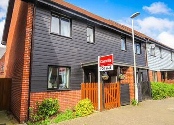 Thumbnail 2 bedroom end terrace house for sale in Teddington Drive, Leybourne, West Malling