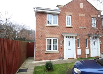 Thumbnail 3 bed semi-detached house for sale in Sulis Gardens, Worksop