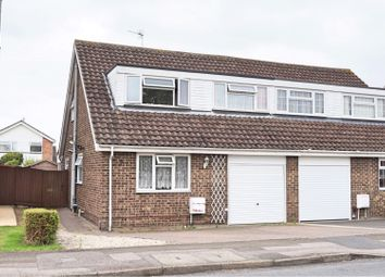 Thumbnail 4 bed semi-detached house for sale in Sywell Road, Swindon