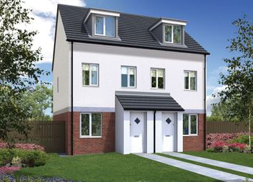 "Thumbnail 3 bed semi-detached house for sale in ""The Souter "" at Old Cemetery Road, Hartlepool"