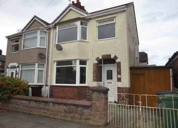 Thumbnail 3 bed semi-detached house for sale in Sandringham Close, New Ferry, Wirral