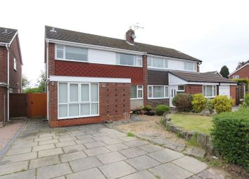Thumbnail 3 bed semi-detached house for sale in Rothesay Avenue, Newcastle-Under-Lyme