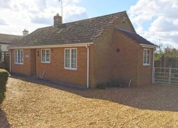 Thumbnail 2 bedroom bungalow for sale in Woodland View, Holme Road, Stowbridge, King's Lynn, Norfolk