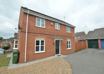 3 bed detached house for sale in Impey Close, Thorpe Astley, Leicester LE3