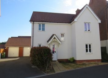 Thumbnail 4 bed detached house for sale in Daisy Street, Wymondham