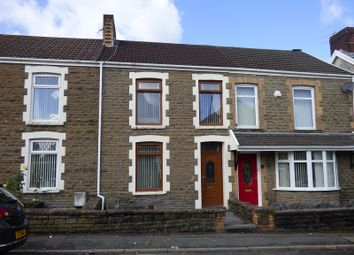 Thumbnail 3 bed terraced house for sale in Christopher Road, Skewen, Neath .