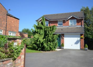 Thumbnail 4 bed detached house for sale in Macclesfield Road, Holmes Chapel, Crewe