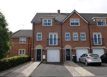 Thumbnail 4 bed town house for sale in Tramside Way, Carlisle