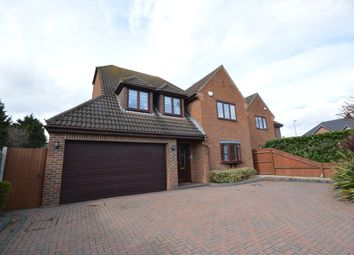 Thumbnail 4 bed detached house for sale in Wingletye Lane, Borders Of Emerson Park, Hornchurch