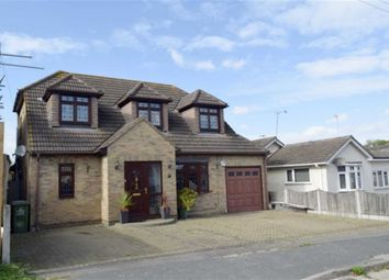 Thumbnail 4 bed detached house for sale in Westlake Avenue, Basildon, Essex