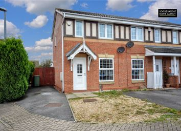 Thumbnail 2 bed end terrace house for sale in Buckingham Grove, Grimsby