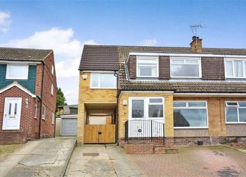 Thumbnail 4 bed semi-detached house for sale in Severn Drive, Garforth, Leeds, West Yorkshire